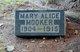 Profile photo:  Mary Alice Mooker