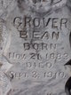 Grover Bean