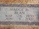 Madge Helen <I>Stanley</I> Bean