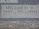 Mildred B Wingate