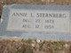 Annie L <I>Lindsley</I> Sternberg
