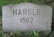 Profile photo:  Harold