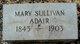 Profile photo:  Mary <I>Sullivan</I> Adair