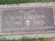 Alice Jeanett <I>Howard</I> Deatsch