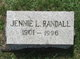 Jennie Louise Randall