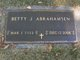 Betty <I>Andrew</I> Abrahamsen