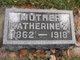 """Katherine Z. """"Carrie"""" <I>Turner</I> Carter"""