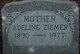Profile photo:  Adeline <I>Gosen</I> Ziemer