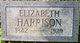 Elizabeth <I>Carpenter</I> Harrison