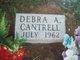 Profile photo:  Debra Ann Cantrell