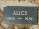 Profile photo:  Alice <I>Wigan</I> Ambers