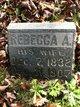 Rebecca A <I>Callahan</I> English