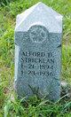 Profile photo:  Alford D. Stricklan