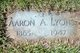 Profile photo:  Aaron A Lyons