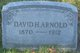 Profile photo:  David H Arnold