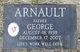 Profile photo:  George Arnault