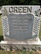 Fannie Maud <I>Wilkerson</I> Green