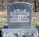 Profile photo:  Aline <I>Humphrey</I> Green