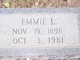 Profile photo:  Emmie <I>Logan</I> Story
