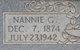 Nannie G Allen