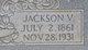 Jackson V Allen