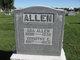 """Dorothy Elizabeth Mae """"Dora"""" <I>Witt</I> Allen"""
