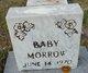 Profile photo:  Baby Morrow