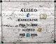 Profile photo:  Catherine <I>Caruso</I> Aliseo