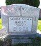 "Profile photo:  George Sidney ""Sonny"" Bailey"