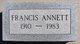 Francis Annette