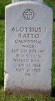 Profile photo:  Aloysius I Ratto