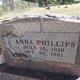 Profile photo:  Anna <I>Terry</I> Phillips