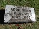Profile photo:  Addie Sikes Gilbert