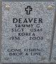 Sammy Gene Deaver