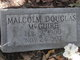 Profile photo:  Malcolm Douglas McGuire