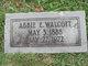 Profile photo:  Abbie E Walcott