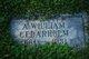 A William Cedaraholm