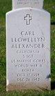 Carl Llowellyn Alexander