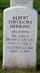Profile photo:  Albert Theodore Herring
