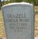 Francis Omega <I>Ware</I> Brazell