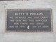 Betty B. <I>Bobbitt</I> Phillips