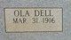 Ola Dell <I>Williams</I> Scruggs