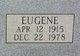 Eugene Scruggs