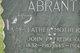 "Fredricka ""Frannie"" <I>Anderson</I> Abrant"