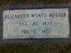 Elizabeth <I>Wyatt</I> Potter