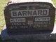 Profile photo:  Anna Geraldine <I>Hammons</I> Barnard
