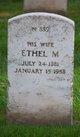 Ethel M <I>Adair</I> Pyle