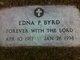 Edna Carol <I>Page</I> Byrd