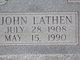 John Lathen Moore