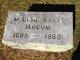 M. Elsie <I>Karst</I> Slocum